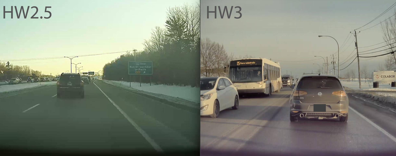 Tesla retrofit HW2.5 to HW3