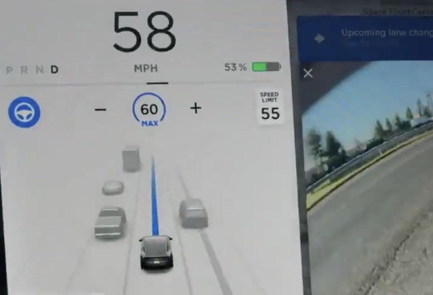 FSD driving visualizations