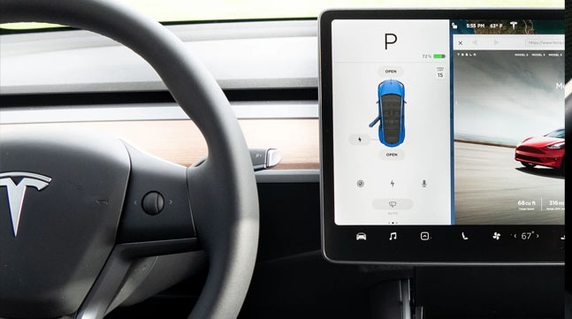 Tempered glass screen protector for Model 3