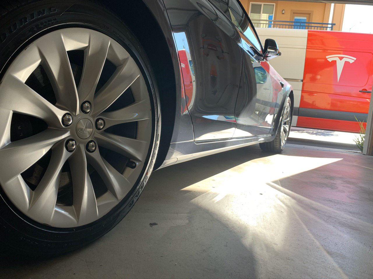 Tesla Tire Rotation And Tire Change